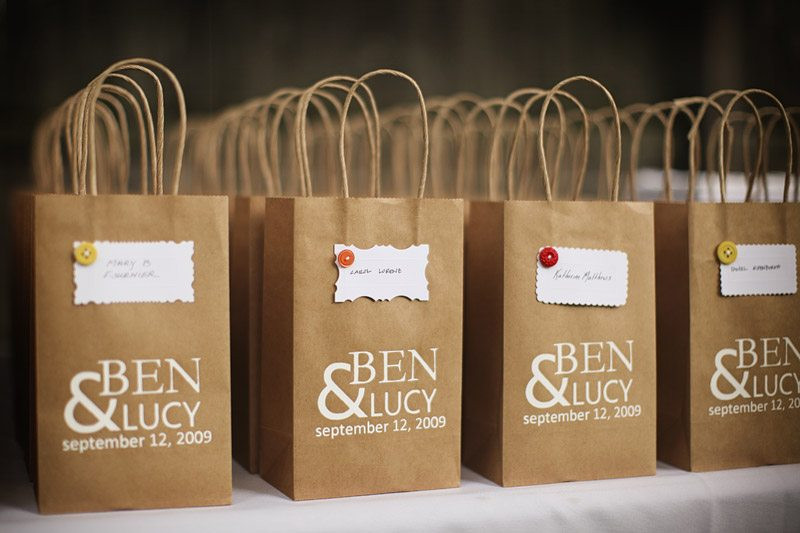 Best ideas about Wedding Gift Bag Ideas . Save or Pin A DIY Fall Wedding The Sweetest Occasion Now.