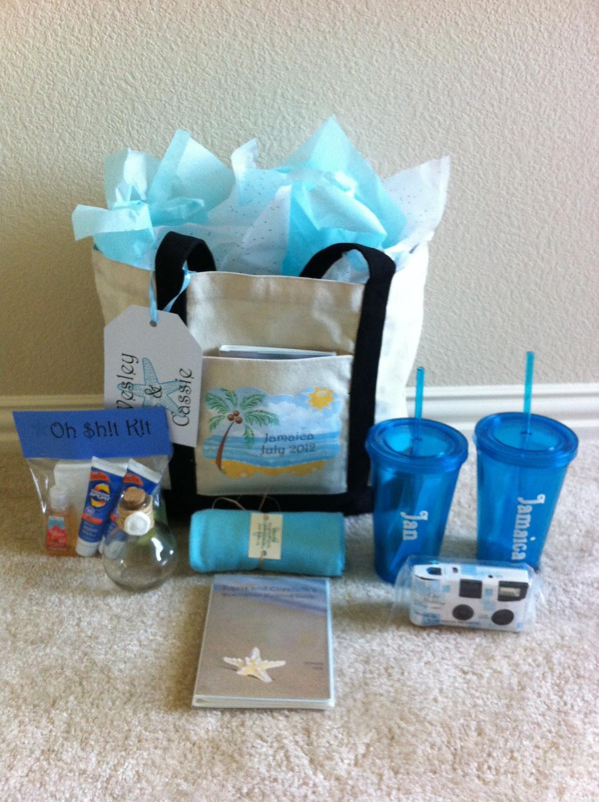 Best ideas about Wedding Gift Bag Ideas . Save or Pin Connoisseur of Creativity DIY Destination Wedding Wel e Now.
