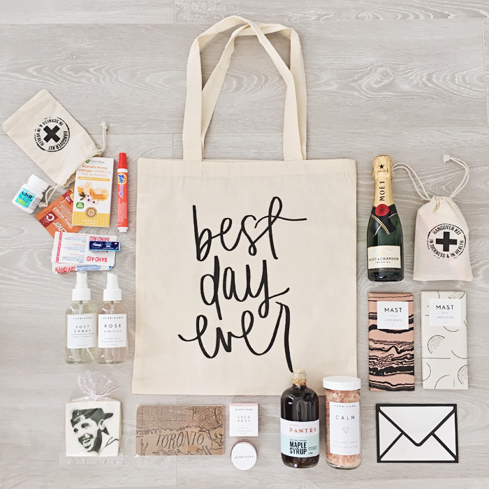 Best ideas about Wedding Gift Bag Ideas . Save or Pin WEDDING WEL E BAGS STEPHANIE STERJOVSKI Now.