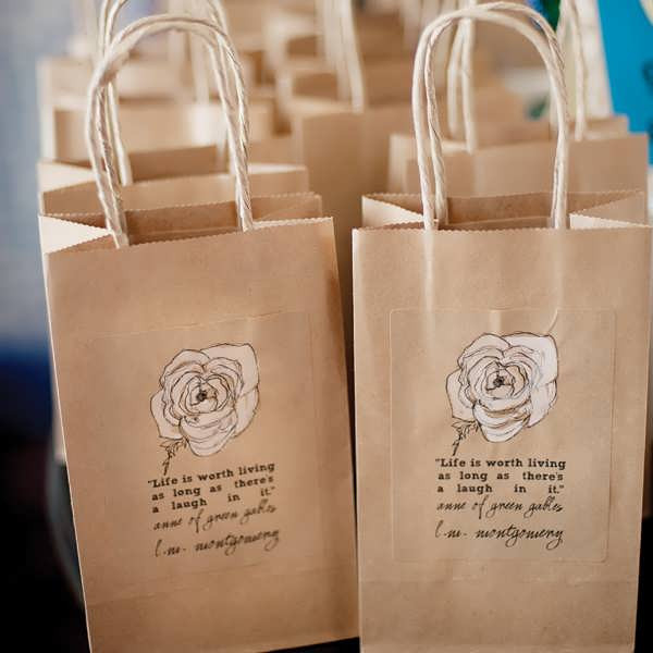 Best ideas about Wedding Gift Bag Ideas . Save or Pin Bridal Shower Favor Bags Now.