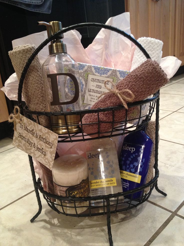 Best ideas about Wedding Gift Basket Ideas . Save or Pin Wedding Gift Baskets For Bride Now.