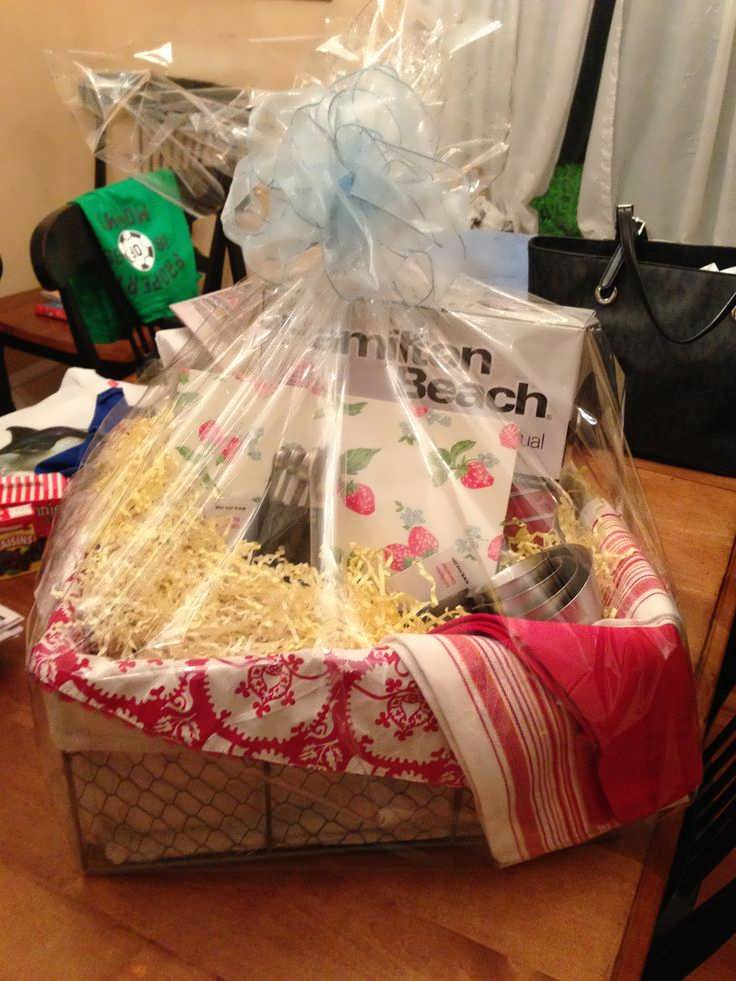Best ideas about Wedding Gift Basket Ideas . Save or Pin Bridal Shower Gift Basket For Bride Now.