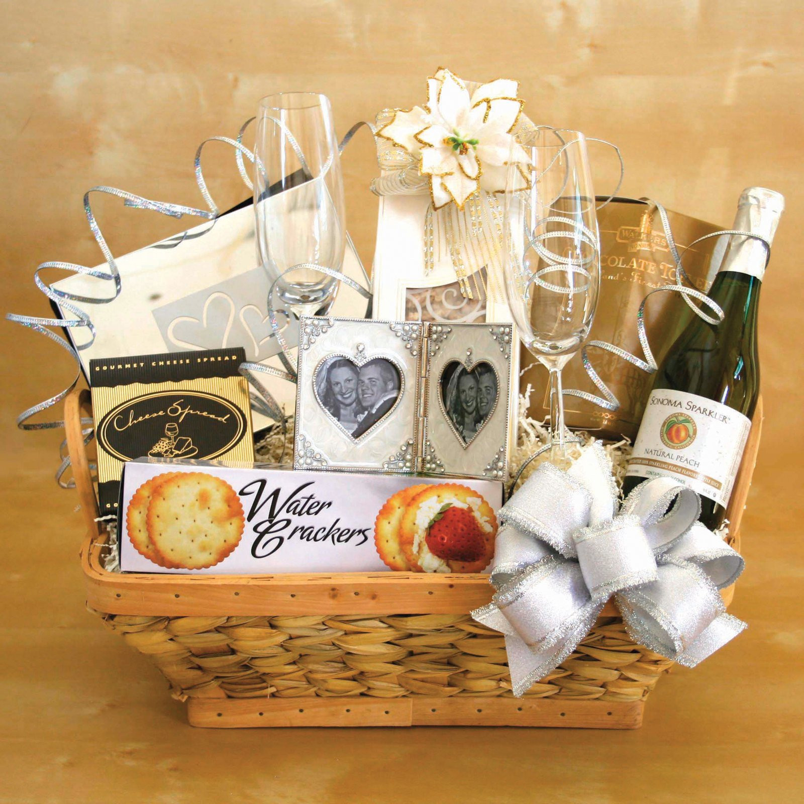 Best ideas about Wedding Gift Basket Ideas . Save or Pin Simple Wedding Gifts Now.