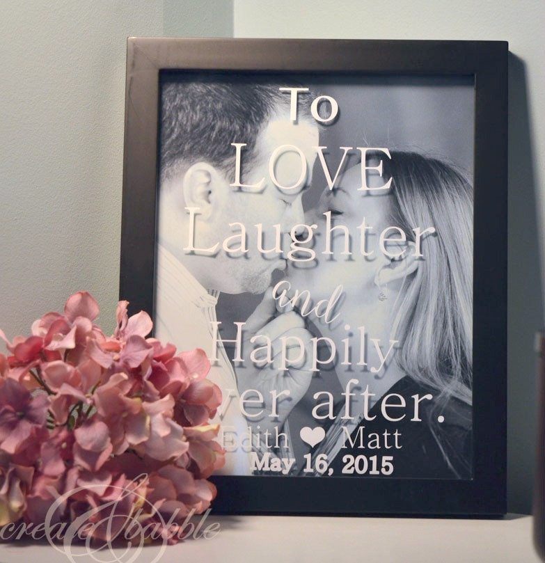 Best ideas about Wedding Gift DIY . Save or Pin DIY Wedding Gift Create and Babble Now.