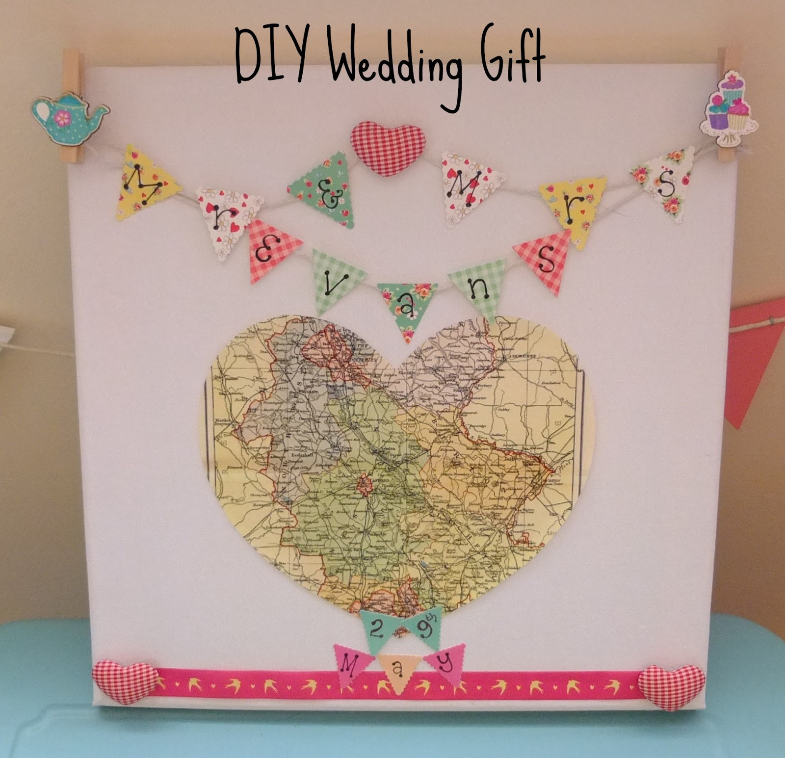 Best ideas about Wedding Gift DIY . Save or Pin DIY Wedding Gift on a Bud Hello Terri Lowe Now.