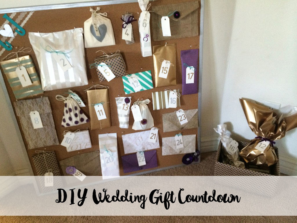 Best ideas about Wedding Gift DIY . Save or Pin Wedding Gift Countdown a Thoughtful Gift from My Now.