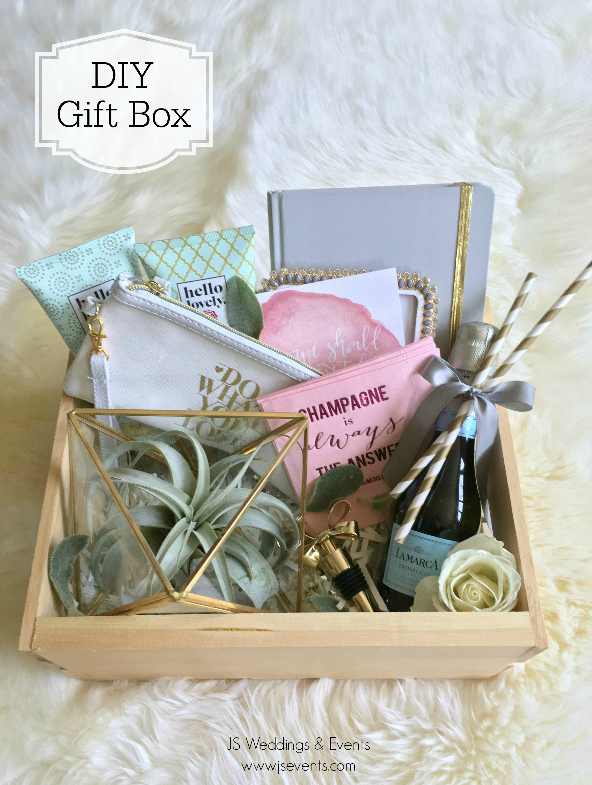 Best ideas about Wedding Gift DIY . Save or Pin DIY Gift Box js weddings and events Now.