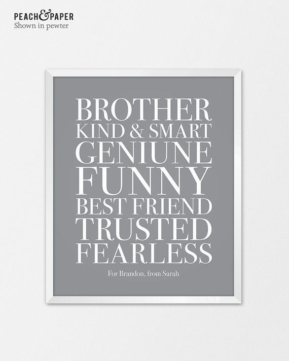 Wedding Gift Ideas For Brother  The 25 best Brother wedding ts ideas on Pinterest