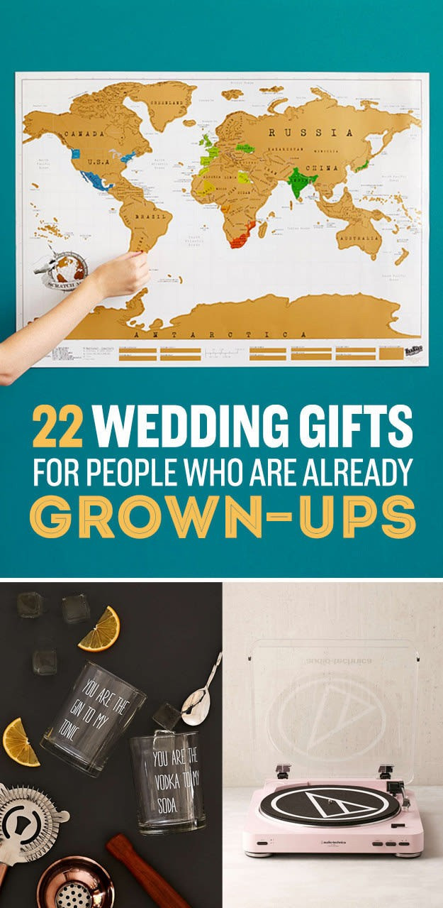 Best ideas about Wedding Gift Ideas For Couple Already Living Together . Save or Pin 20 Lovely Wedding Gift Ideas for Couple Already Living Now.