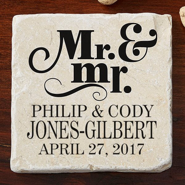 Best ideas about Wedding Gift Ideas For Gay Couple . Save or Pin Personalized Wedding Gift Ideas For Same Couples Now.