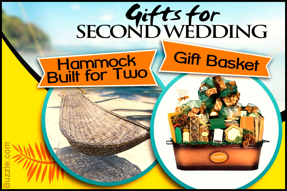Wedding Gift Ideas For Second Marriages  10 Wedding Gift Ideas for Second Marriages That are SO