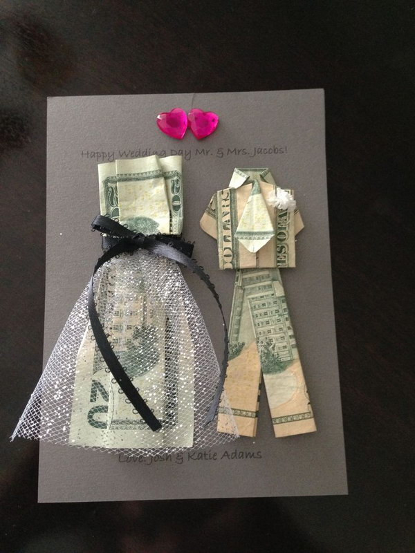Best ideas about Wedding Gift Money Ideas . Save or Pin Fun and Creative Ways to Give Money as a Gift Noted List Now.