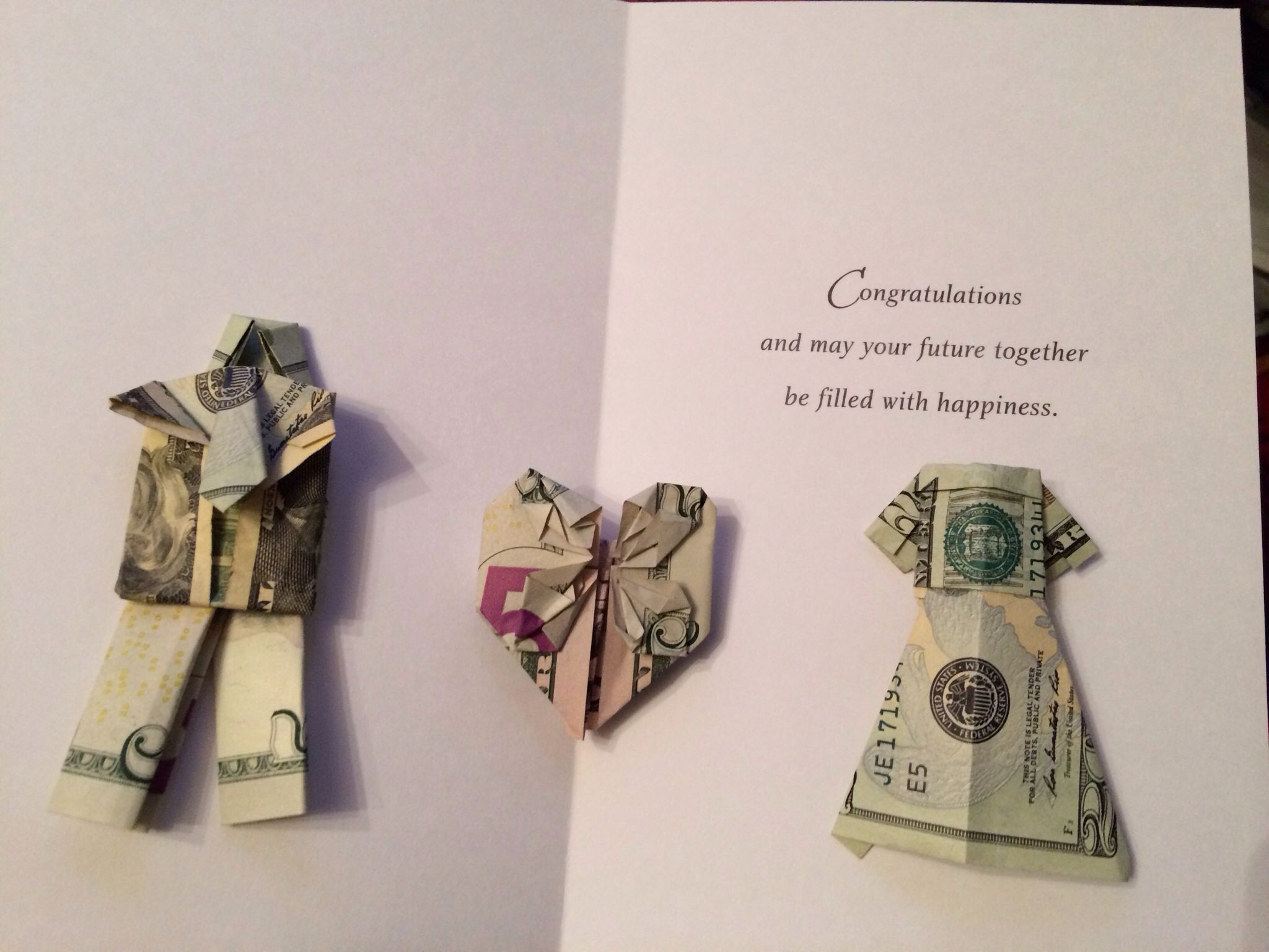 Best ideas about Wedding Gift Money Ideas . Save or Pin Origami money wedding t Wedding Now.