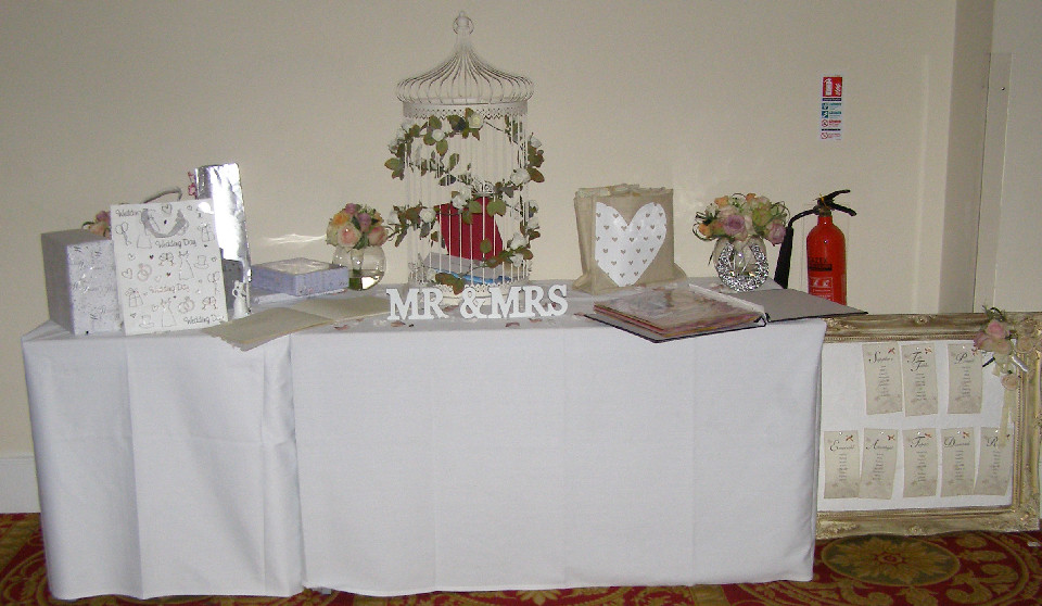 Best ideas about Wedding Gift Table Ideas . Save or Pin wedding dj maidstone oakwood house wedding t table Now.