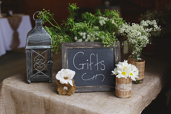 Best ideas about Wedding Gift Table Ideas . Save or Pin Rustic Country Wedding Now.