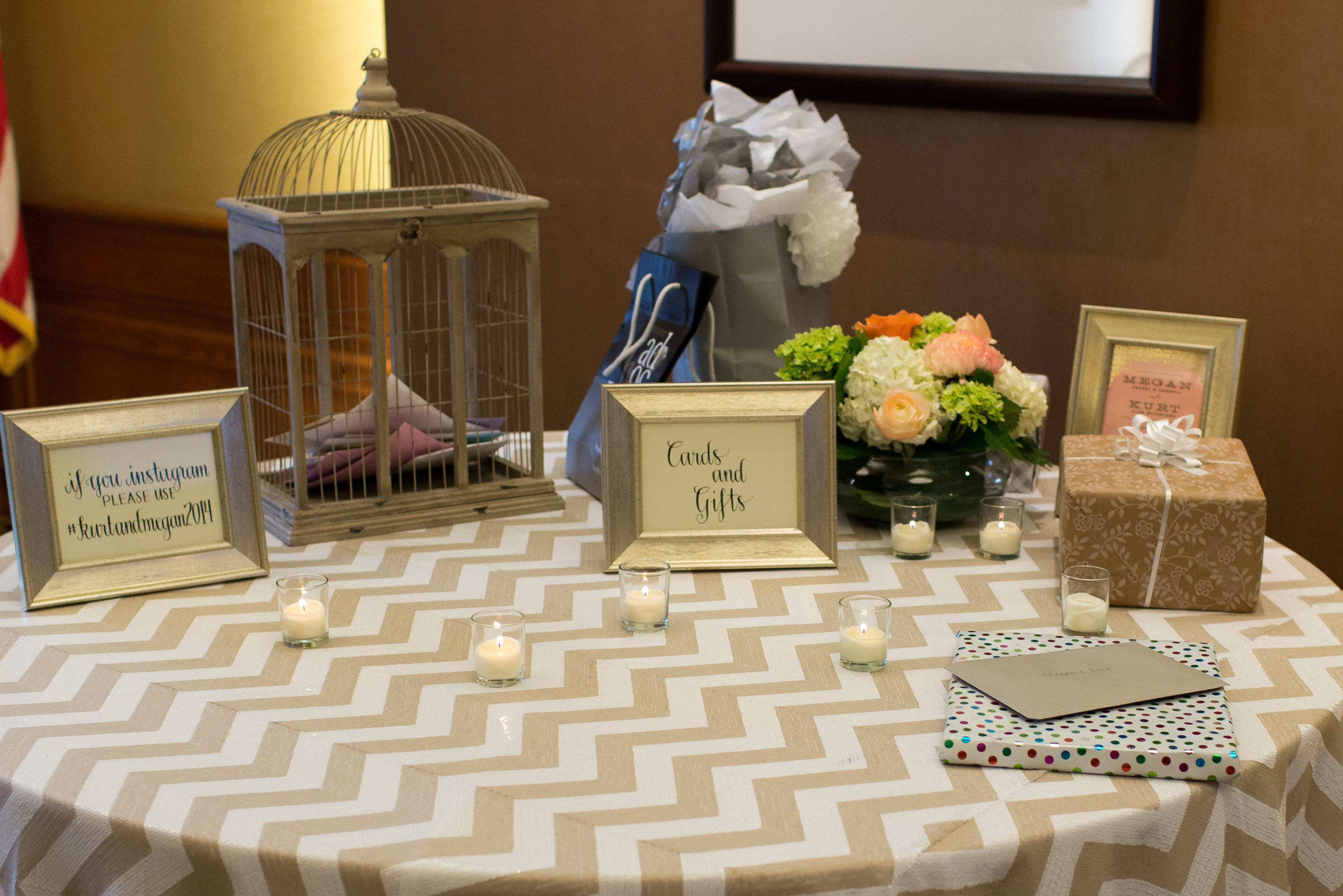 Best ideas about Wedding Gift Table Ideas . Save or Pin The gallery for Wedding Gift Table Now.