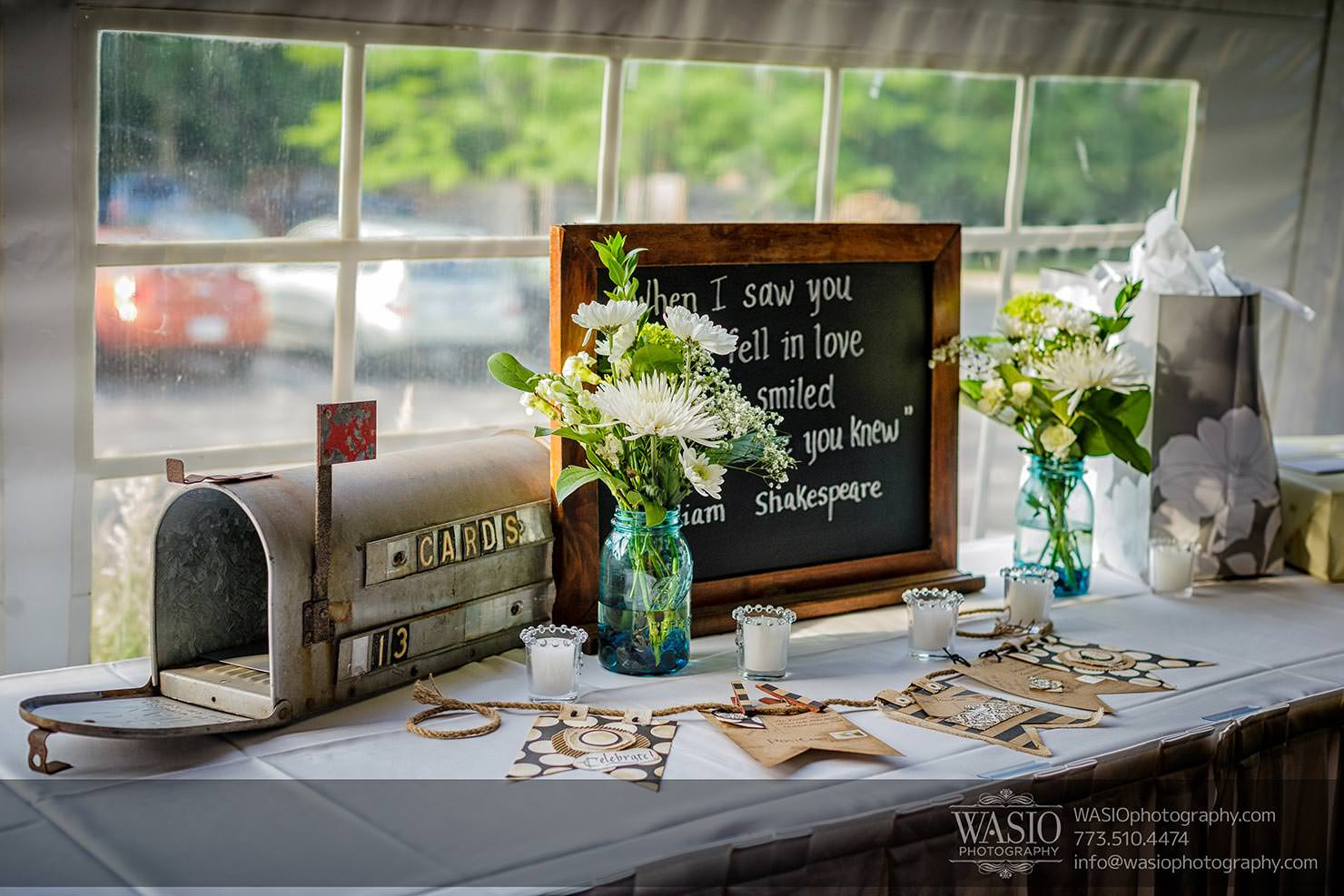 Best ideas about Wedding Gift Table Ideas . Save or Pin Cantigny Park Weding Danielle David Now.