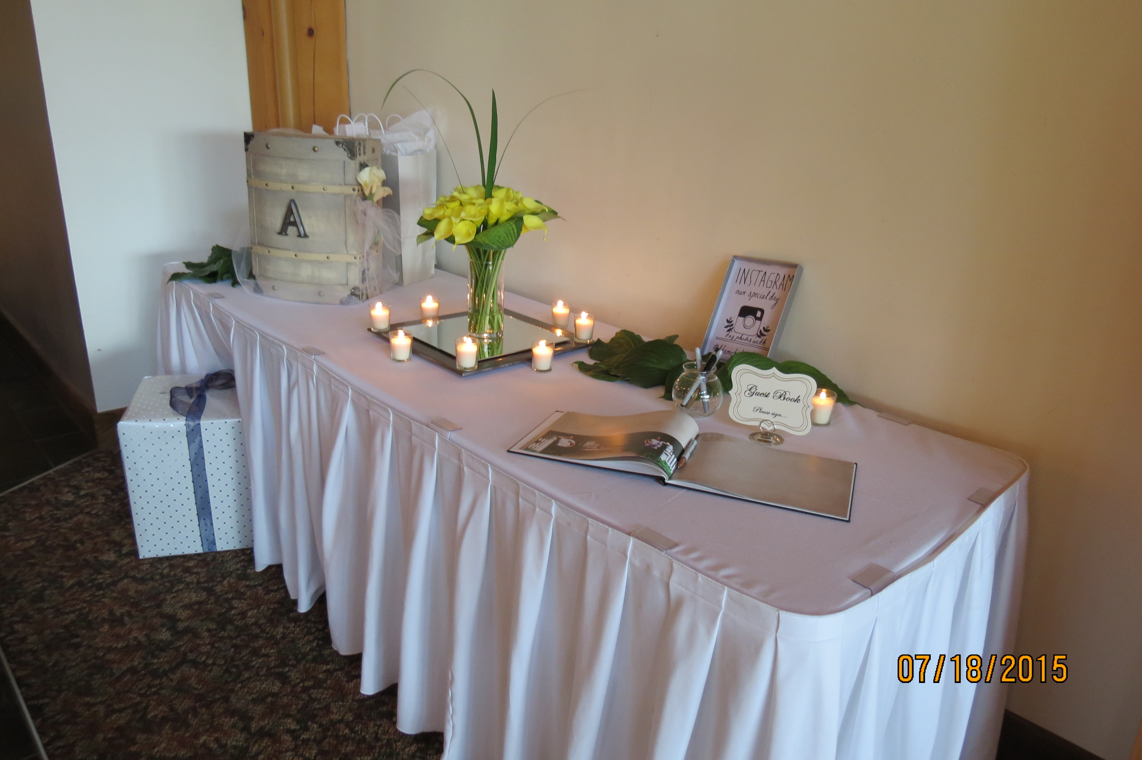 Best ideas about Wedding Gift Table Ideas . Save or Pin Wedding Gift Tables – Hidden Valley Animal Adventure Now.