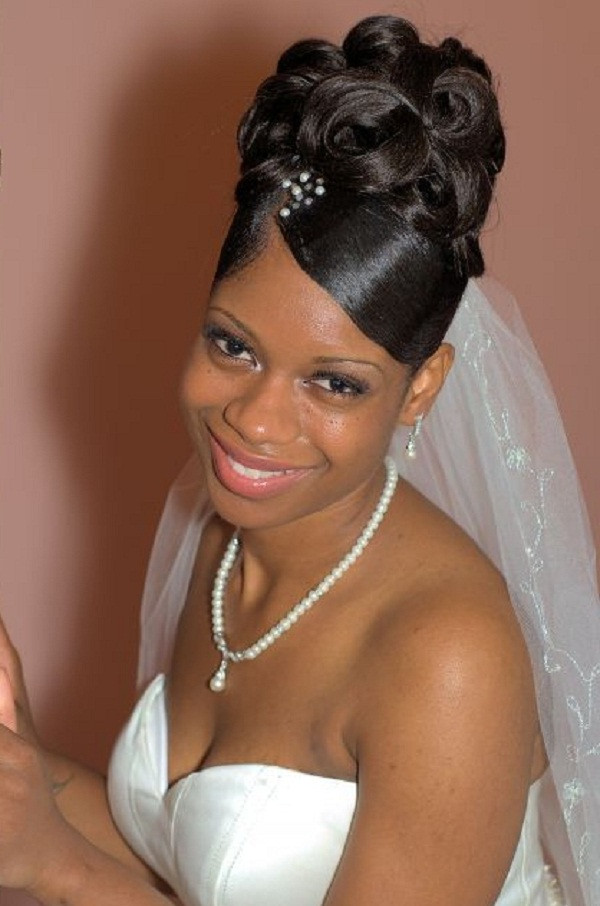 Best ideas about Wedding Hairstyles For Black Bridesmaids . Save or Pin 57 Gorgeous Wedding Hairstyles With Veil MagMent Now.