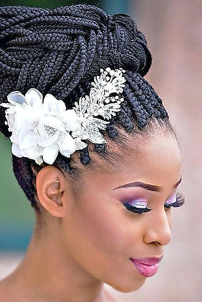 Best ideas about Wedding Hairstyles For Black Bridesmaids . Save or Pin Unique Black Bridesmaid Hairstyles For A Wedding African Now.
