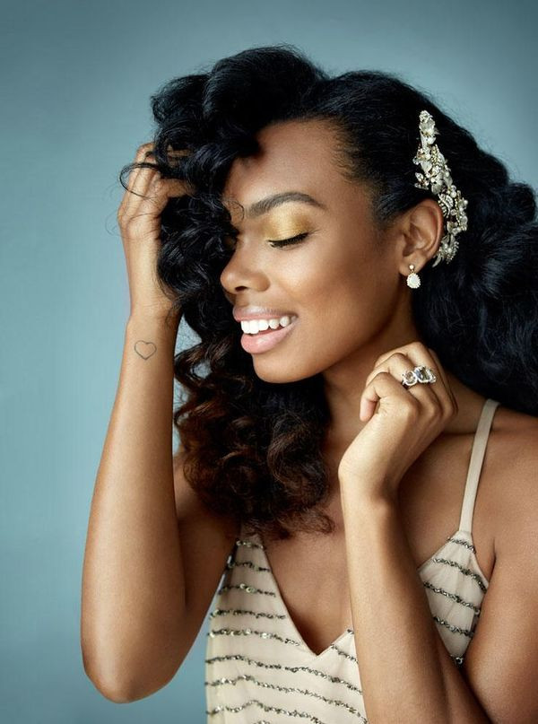 Best ideas about Wedding Hairstyles For Black Bridesmaids . Save or Pin Wedding Hairstyles for Black Women african american Now.