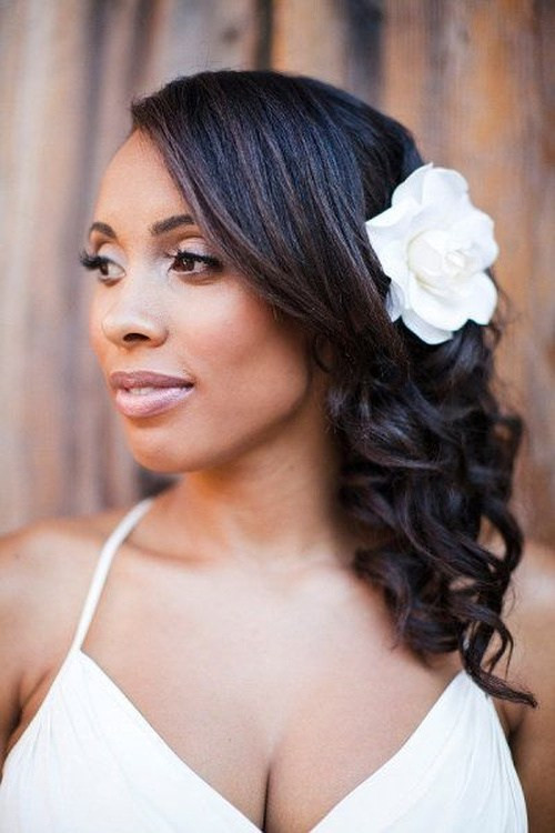 Best ideas about Wedding Hairstyles For Black Bridesmaids . Save or Pin 50 Superb Black Wedding Hairstyles Now.
