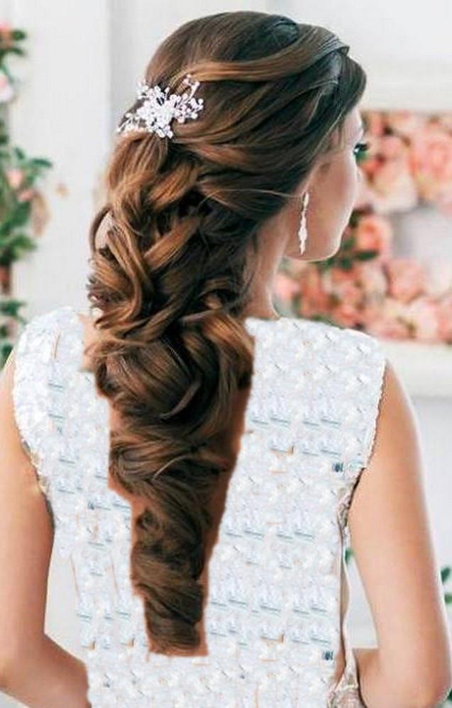 Wedding Hairstyles Half Up  Half up half down wedding hair Hairstyle for women & man