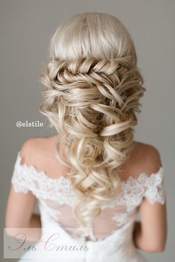 Wedding Hairstyles Half Up  40 Stunning Half Up Half Down Wedding Hairstyles with