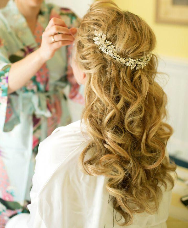 Wedding Hairstyles Half Up  15 Latest Half Up Half Down Wedding Hairstyles for Trendy