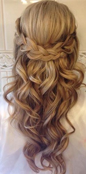 Wedding Hairstyles Half Up  20 Amazing Half Up Half Down Wedding Hairstyle Ideas Oh