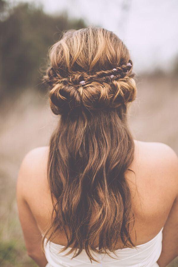 Wedding Hairstyles With Braids  15 Latest Half Up Half Down Wedding Hairstyles for Trendy
