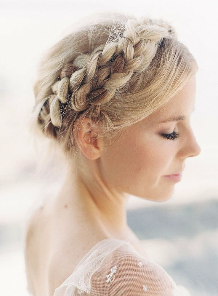 Wedding Hairstyles With Braids  17 Sweet & Exquisite Braided Hairstyles Pretty Designs