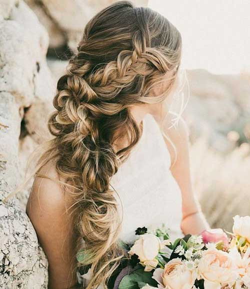 Wedding Hairstyles With Braids  25 Wedding Hair Styles for Long Hair
