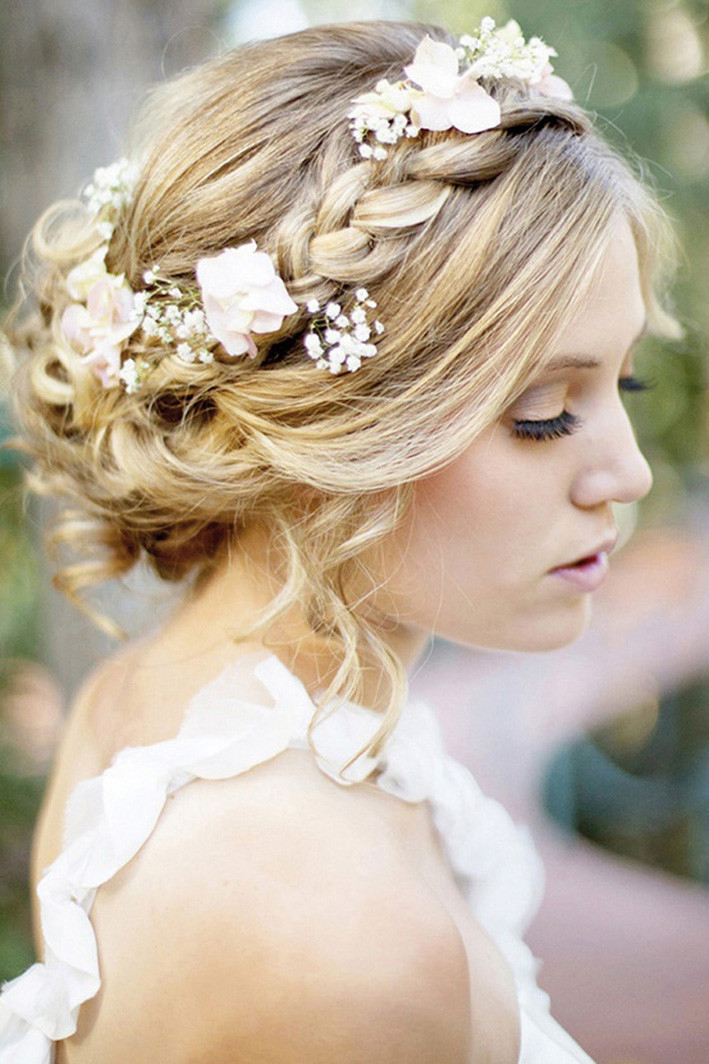 Wedding Hairstyles With Braids  Top 15 Wedding Hair Styles Ideas that Guarantee Beautiful