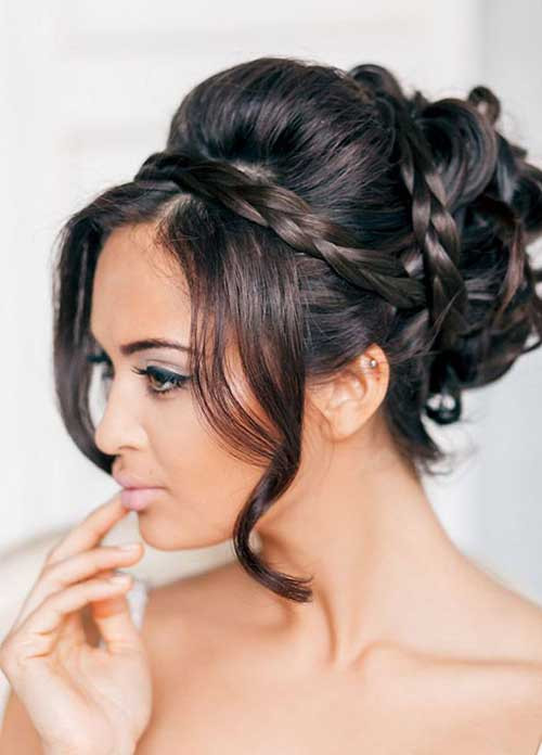 Wedding Hairstyles With Braids  15 Braided Updos for Long Hair