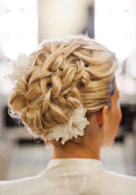 Wedding Hairstyles With Braids  20 Glamorous Wedding Updos 2017 Romantic Wedding
