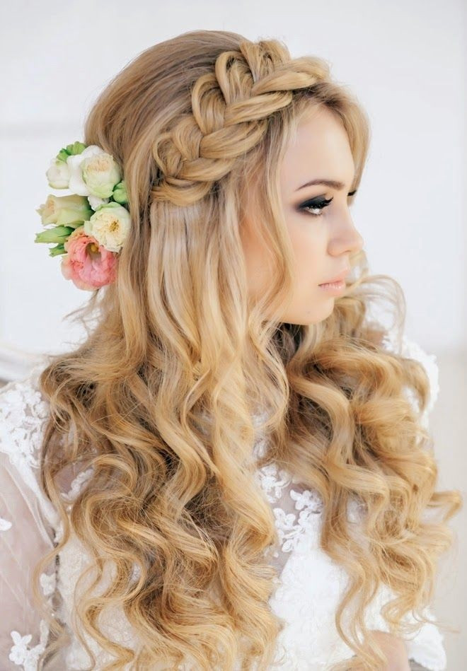 Wedding Hairstyles With Braids  36 Breath Taking Wedding Hairstyles for Women Pretty Designs