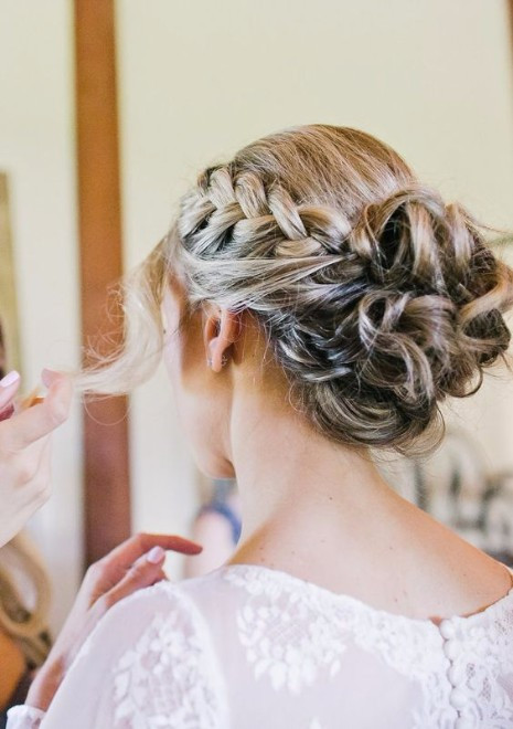 Wedding Hairstyles With Braids  30 Elegant Outdoor Wedding Hairstyles Hairstyles