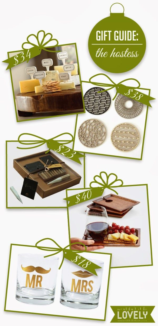 Best ideas about Wedding Host And Hostess Gift Ideas . Save or Pin Great Christmas and Holiday Gift Ideas for the host and Now.