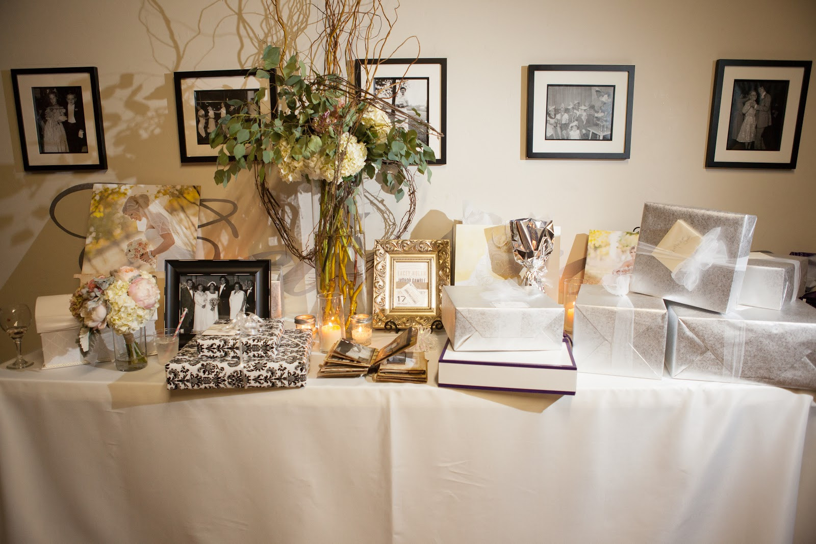 Best ideas about Wedding Reception Gift Ideas . Save or Pin The gallery for Wedding Gift Table Now.