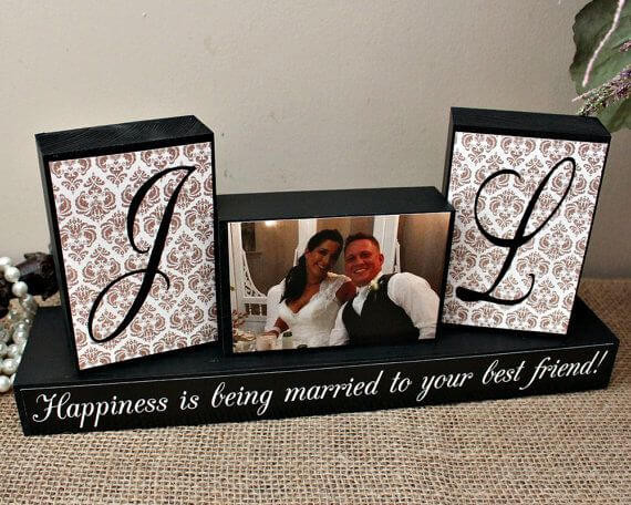 Best ideas about Wedding Reception Gift Ideas . Save or Pin Personalized Wedding Gifts ideas and Unique Wedding Gifts Now.