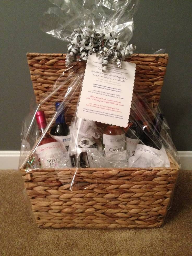 Best ideas about Wedding Reception Gift Ideas . Save or Pin Best Bridal Shower Gift Basket Ideas Now.