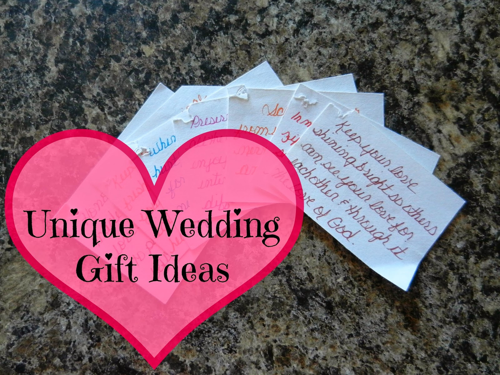 Wedding Registry Gift Ideas  How to e up with unique wedding registry ideas