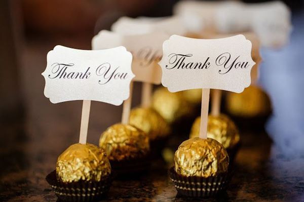 Wedding Thank You Gift Ideas  25 INETRESTING THANK YOU WEDDING GIFT FOR THE GUESTS