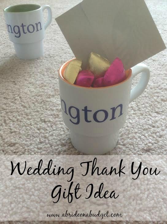 Wedding Thank You Gift Ideas  Wedding Thank You Gift Idea For under $5