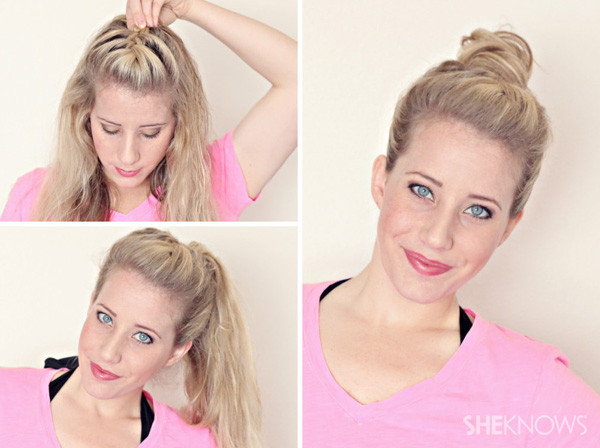 Wet Hairstyles For Short Hair  Hairstyle tutorials for wet hair