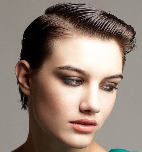 Wet Hairstyles For Short Hair  20 Updated Wet Hairstyles that Will Make You Hang Up Your