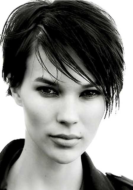 Wet Hairstyles For Short Hair  Pics of Trendy Short Haircuts