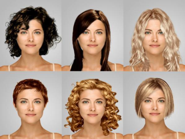 Which Hairstyle Suits Me Female  Consigli per capelli e pettinatureColore capelli giusto