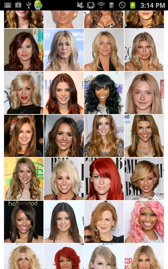 Which Hairstyle Suits Me Female  Different hairstyles for App To Try Different Hairstyles